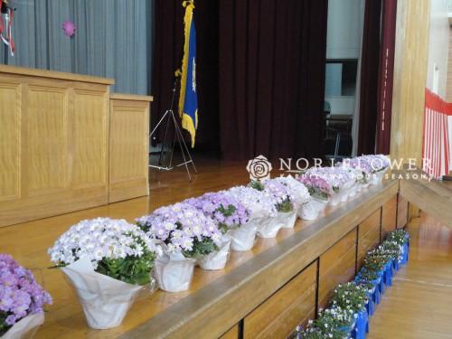 小学校入学式 フラワー装飾