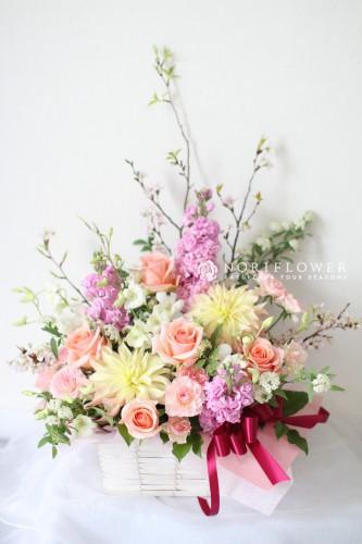 フラワーアレンジメント お祝いアレンジ 開店花アレンジ