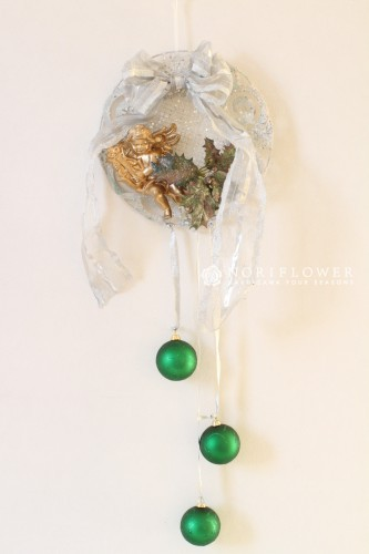 クリスマスリース クリスマスドア飾り クリスマスギフト クリスマスフラワーギフト クリスマスフラワー軽井沢