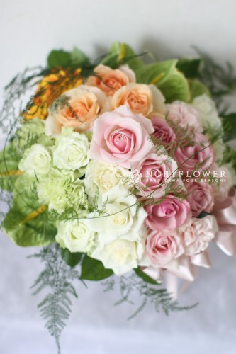 開店花 お祝い花 軽井沢フラワーショップ 軽井沢花屋 結婚式お祝いフラワーギフト