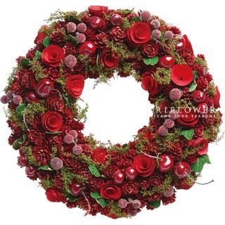 クリスマスリース 軽井沢クリスマス クリスマスリース 軽井沢花屋