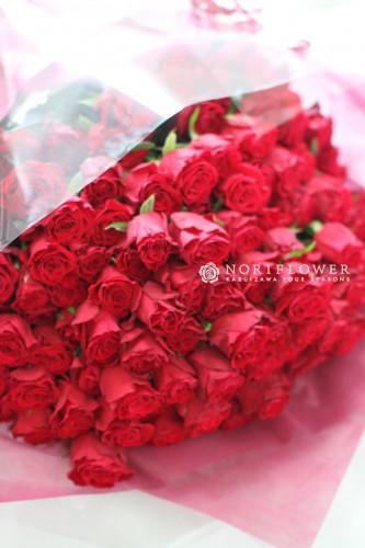 赤バラ花束 バラ花束 プロポーズ花束 赤バラ花束 お祝い花束 還暦花束 バラ108本花束 バラ99本花束 バラ100本花束 プロポーズ花束軽井沢 花束