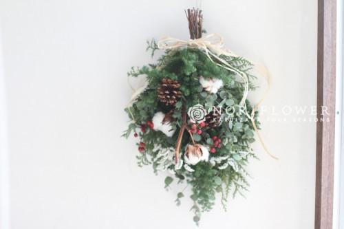 クリスマススワッグ ドライフラワー スワッグ クリスマス クリスマスリース ナチュラルスワッグ リース お正月飾り お正月