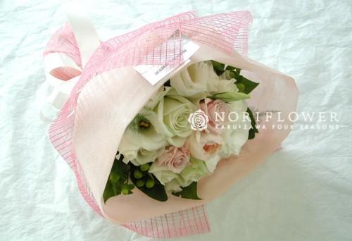ミニ花束 ピンク