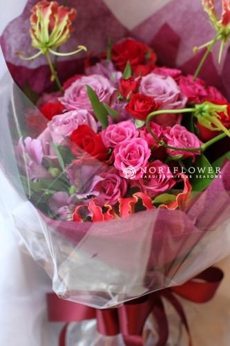 お祝い 花束