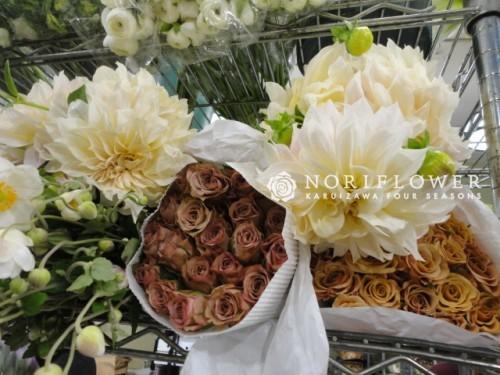 ニューヨーク 花市場