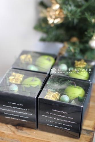 クリスマスギフト プチBOX 青りんご