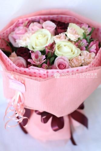花束 ピンク