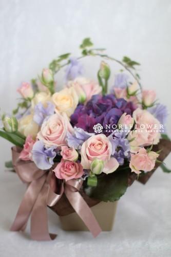 フラワーギフト ピンク 生花