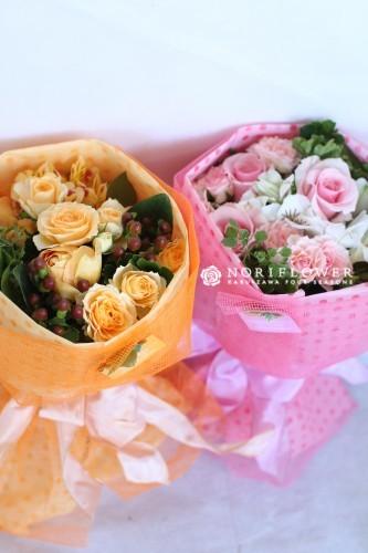 お祝い ミニ花束