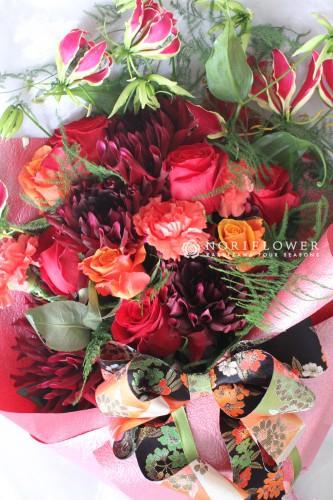 LOVE JAPAN BRAND  花束 軽井沢からフラワーアレンジ