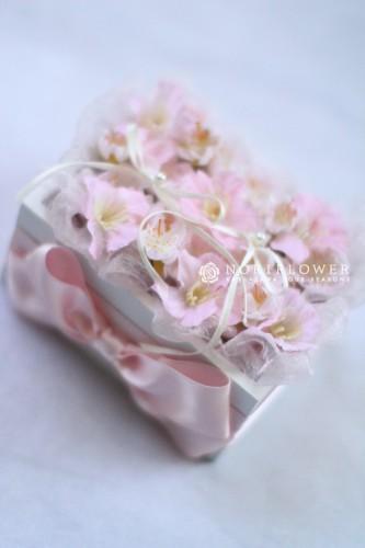 桜のリングピロー アートフラワーリングピロー