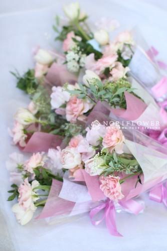 卒園ミニ花束 生花お祝い花束