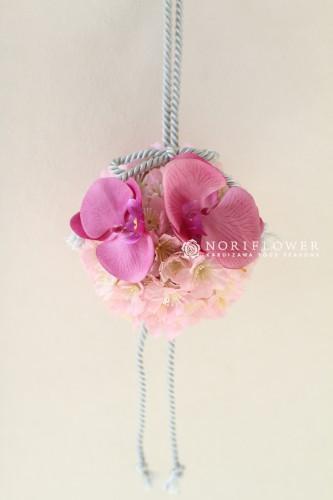 桜&胡蝶蘭和装ブーケ 和装ブーケ