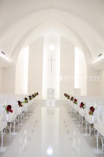 教会装飾 会場装飾 イベントフラワー ウェディングフラワー