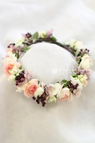 ヘアーサークル 花冠 ヘアーフラワー