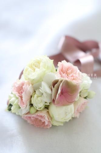 軽井沢ウェディングブーケ 花冠 リストブーケ ブーケ ウェディングブーケ