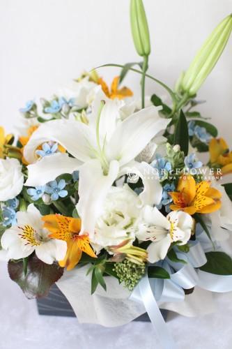 ご供養花アレンジ 供養花 仏花 フラワーアレンジ 軽井沢フラワーショップ