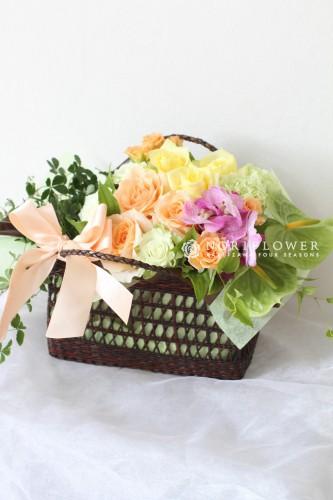 フラワーギフト フラワーアレンジ お祝いギフト 軽井沢花屋 軽井沢フラワーショップ