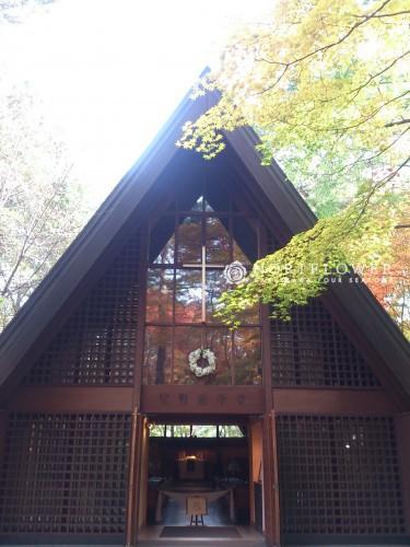 軽井沢高原教会 ウェディングブーケ 軽井沢ウェディングブーケ
