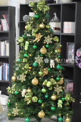 クリスマスアレンジ クリスマスツリー クリスマスオーナメント