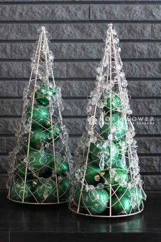 クリスマスツリー クリスマスアレンジ クリスマスオーネメント 軽井沢クリスマス