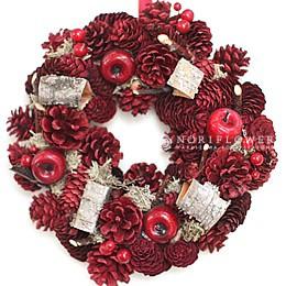 クリスマスリース 軽井沢クリスマス クリスマスリース全国発送 クリスマスギフト 軽井沢花屋