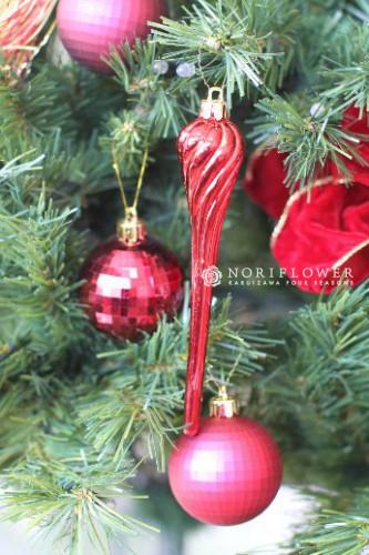 クリスマスオーナメント クリスマスリース クリスマスツリー 軽井沢花屋 軽井沢フラワーショップ