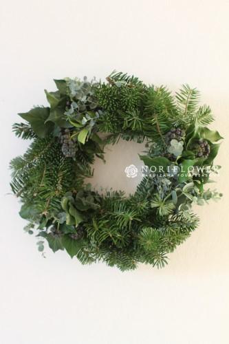 クリスマスリース 生もみの木リース 軽井沢クリスマスリース モミの木リース もみの木クリスマスリース