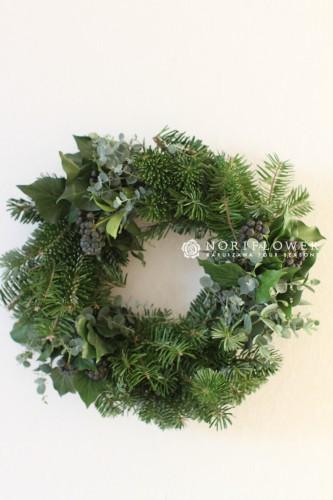 クリスマスリース モミの木リース もみの木リース リース フレッシュリース 生クリスマスリース フレッシュリース クリスマスギフト 軽井沢リース